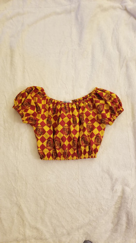 ea198bb0e Gryffindor Peasant Top by PMdesigns by Pamela Marie