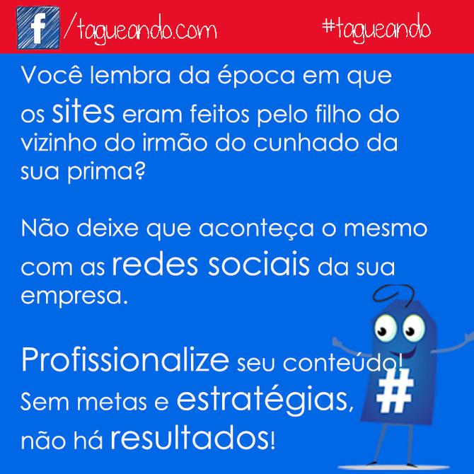 Quem cuida do conteúdo que representa sua empresa nas redes sociais?
