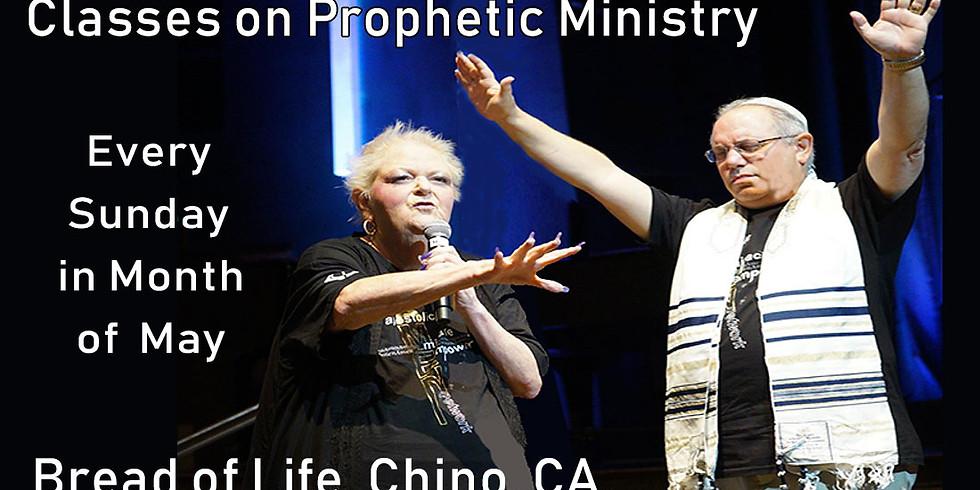 Prophetic Classes - Fellowship Hall