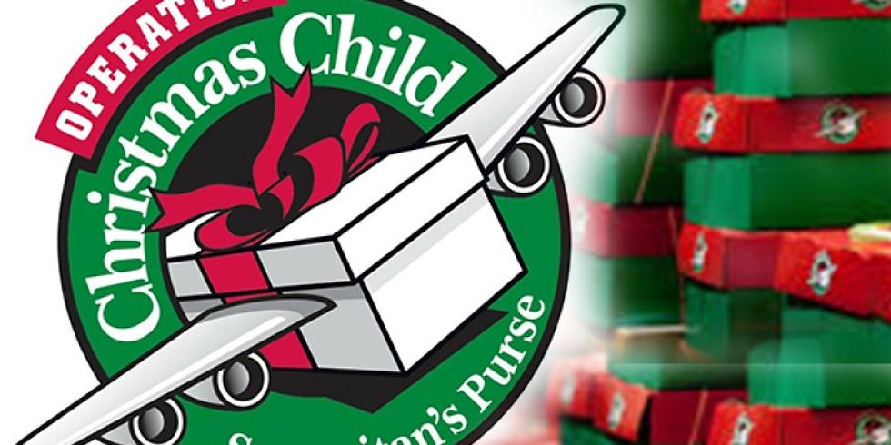 Operation X-mas Child Shoebox Packing Party