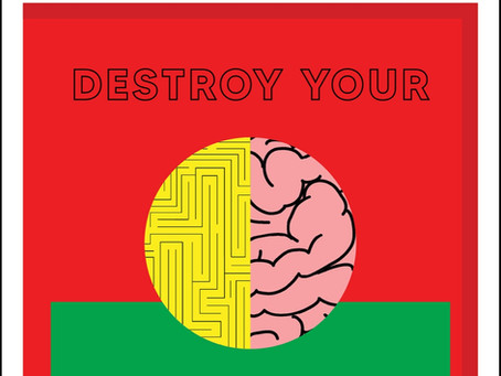 """""""Destroy Your Habits"""" physical book releasing!!!"""