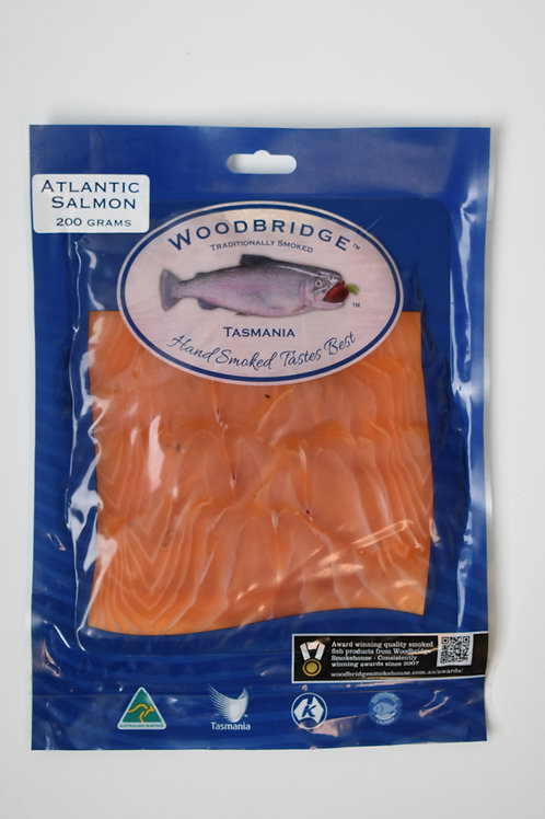 Woodbridge Smokehouse Cold Smoked Atlantic Salmon Port Cured