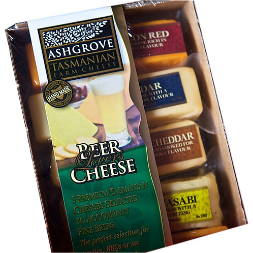 Ashgrove Beer Lovers Cheese Selection