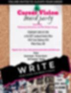 Copy of Vision Board Party Invitation (1