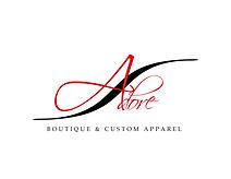 Adore Boutique & Custom Apparel Logo 01B
