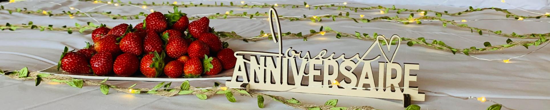 anniversaire en amoureux
