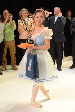 Yuyu Ichikawa Prix Arabesque Grand prix.