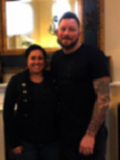 Ben Fuller and Manager Krystal Polychronis
