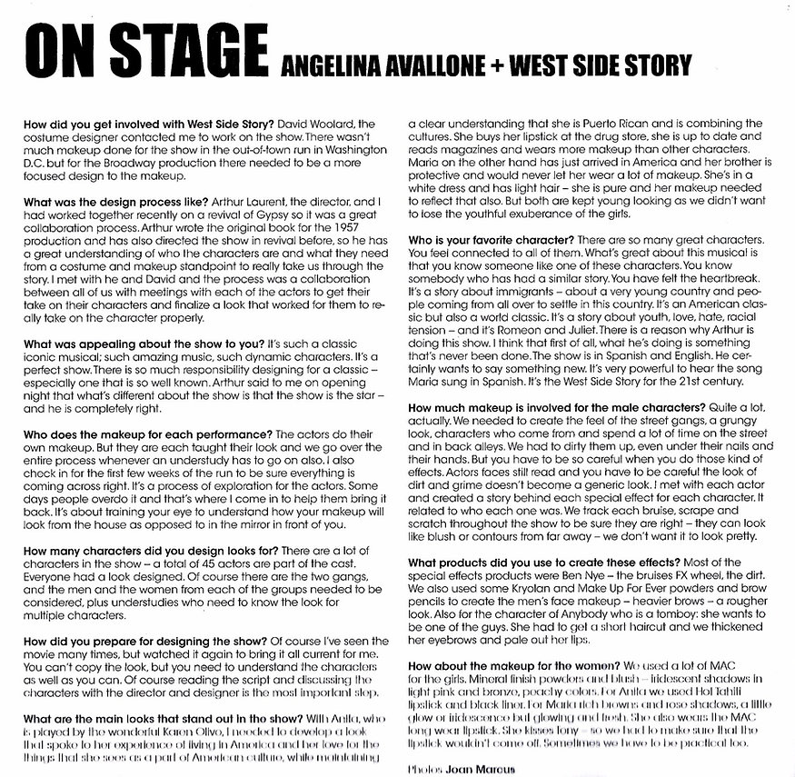 OnStage West Side Story