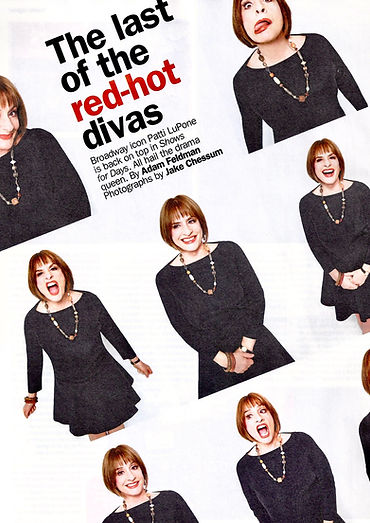 Time Out Patti Lupone