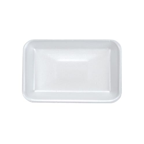 4S White Foam Tray