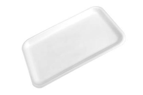 24S White Foam Tray