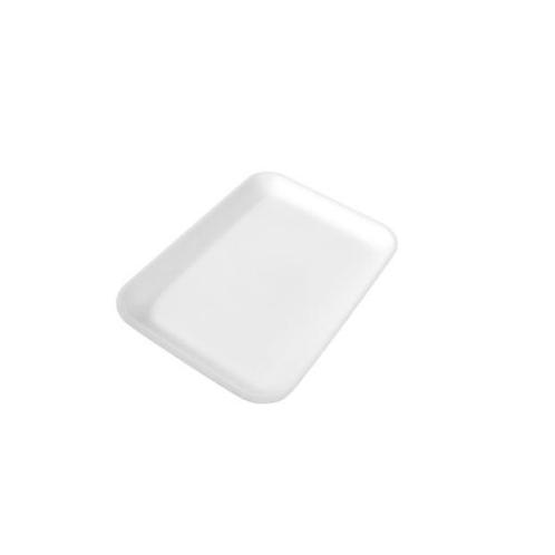 2S White Foam Tray