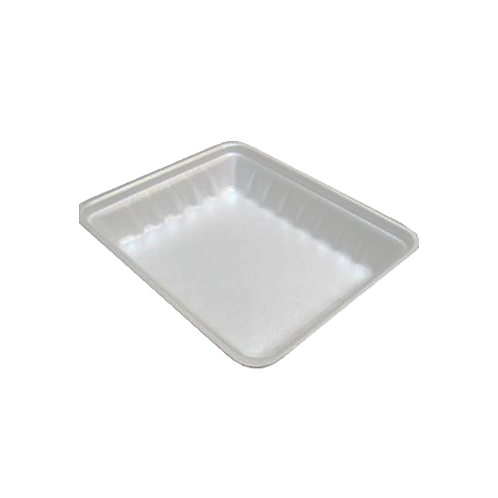 809P White Foam Tray