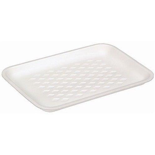 1S White Foam Tray