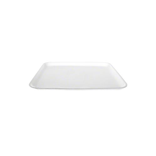8S White Foam Tray