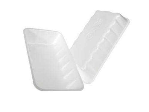 10K White Foam Tray
