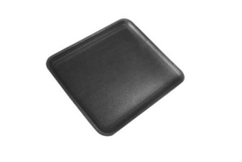 12S Black Foam Tray