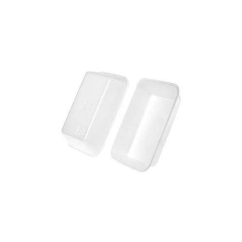 42P White Foam Tray