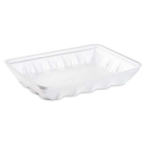 812P White Foam Tray