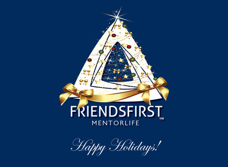 Happy Holidays from FRIENDS FIRST