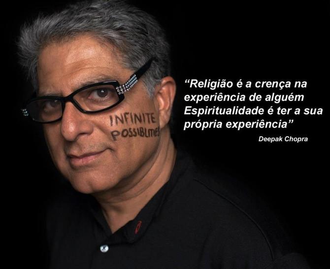 Espiritualidade ou Religião?