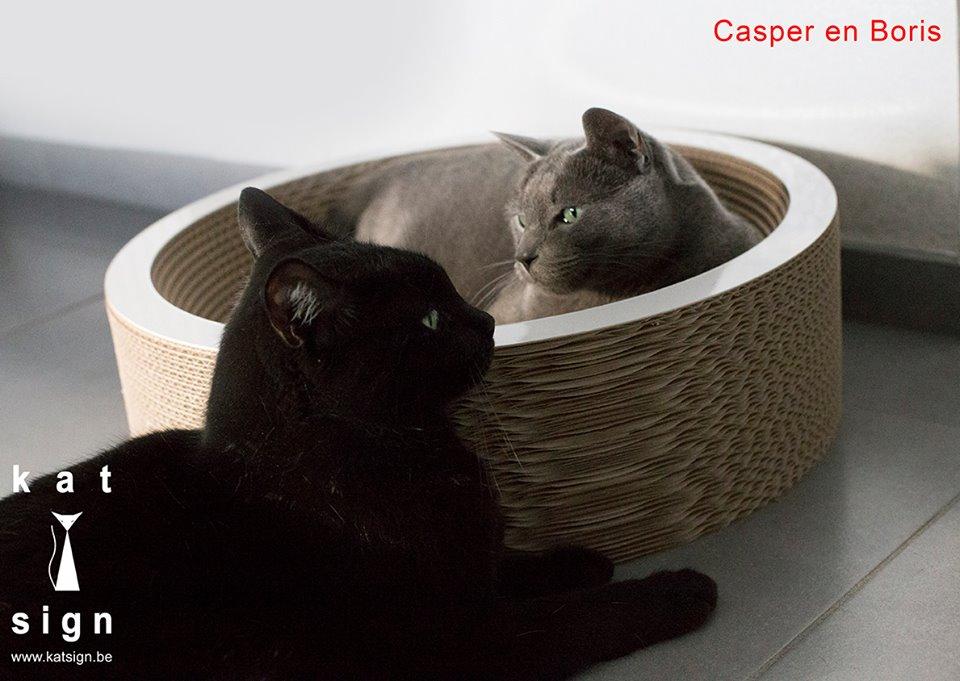 Casper en Boris