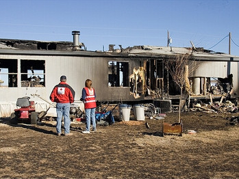 United Way Focus: Red Cross aims to ease loss in times of disaster