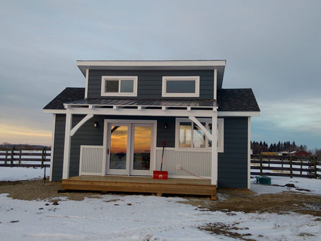 Tiny Home on a city sized lot $164,900 plus GST! Fully finished and ready for you