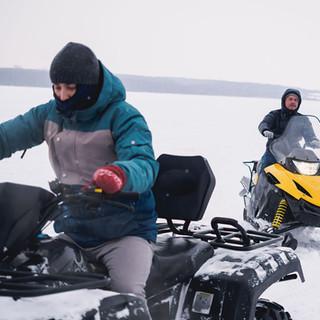 Sledders & Quadders Love The Lake