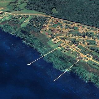Our lakefront on Lesser Slave Lake