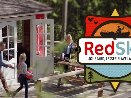 Movie - Red Sky At Lesser Slave Lake...