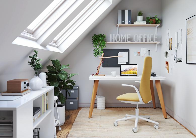 A_Wood Desk