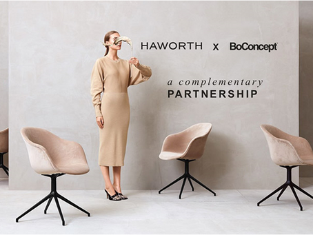 BoConcept & Haworth | A New & Complementary Partnership
