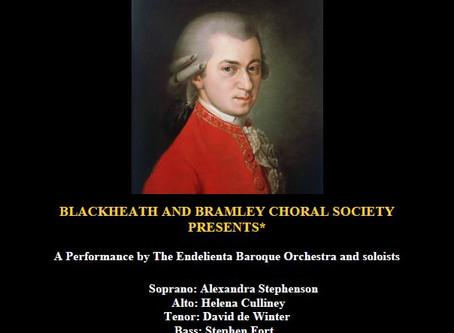 LIVE Online performance of Mozart requiem