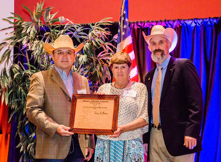 Lazy E Arena Honored by Oklahoma Cattlemen