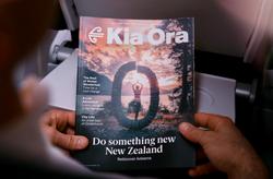 Air NZ Kia Ora Magazine - SJL Photography