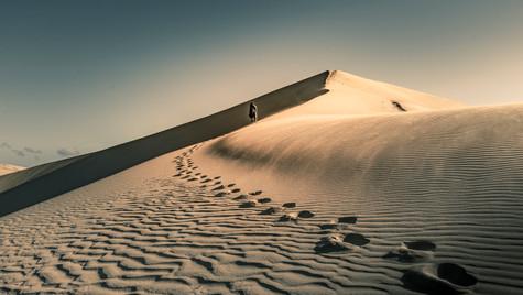 Te Paki Sand Dunes, New Zealand