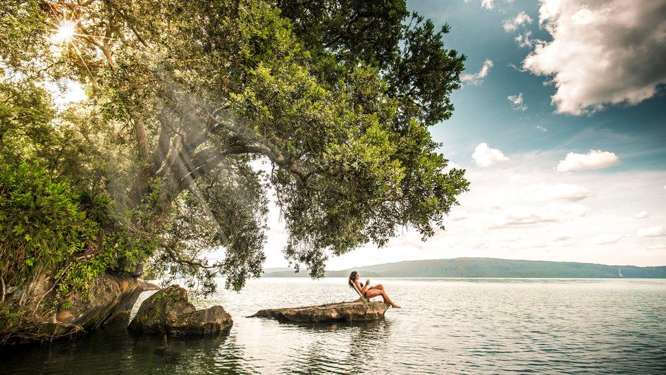 Lake Tarawera, New Zealand