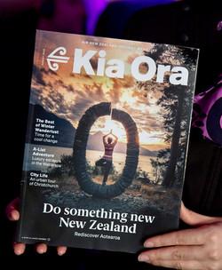 Kia Ora Cover - SJL Photography