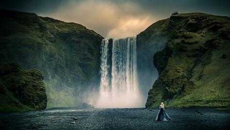 Skógafoss , Iceland