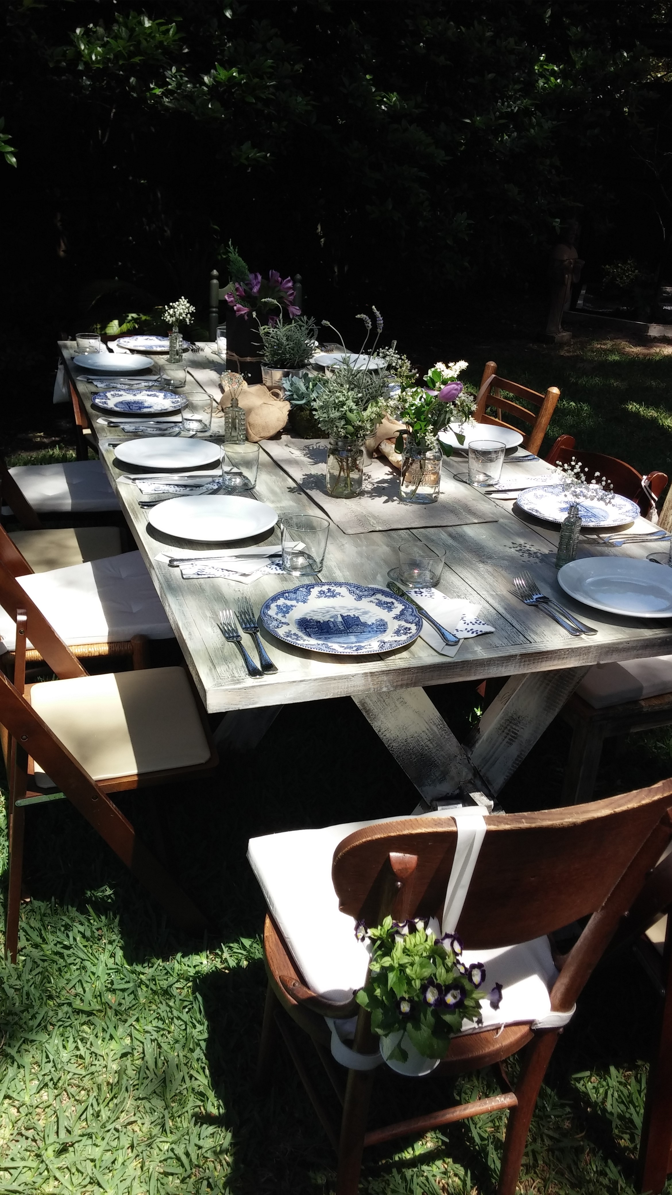 country chic tables