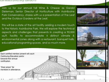 Annual Wine and Cheese Event - October 20, 2021