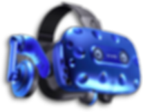 VR Headset. HTC VIVE VR Headset