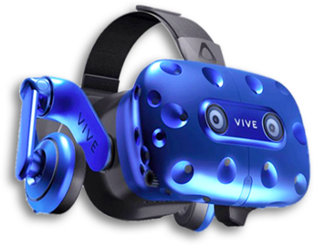 VR Headset. HTC VIVE VR Headset