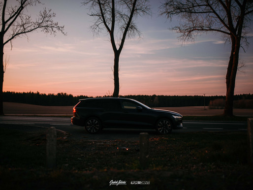 The Expeditionist.                         Volvo V60 CrossCountry
