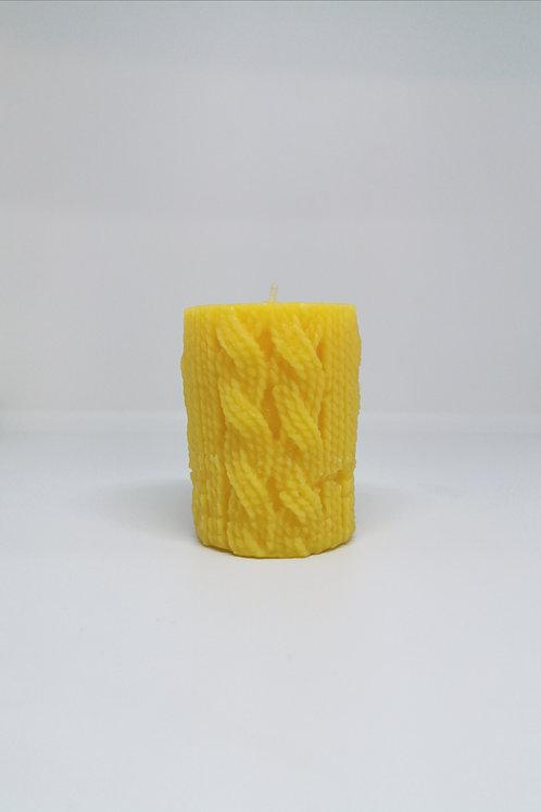 Vela lana amarilla cera de abeja