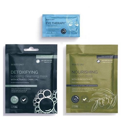 Detoxifying & Nourishing Mask Set (6 masks)