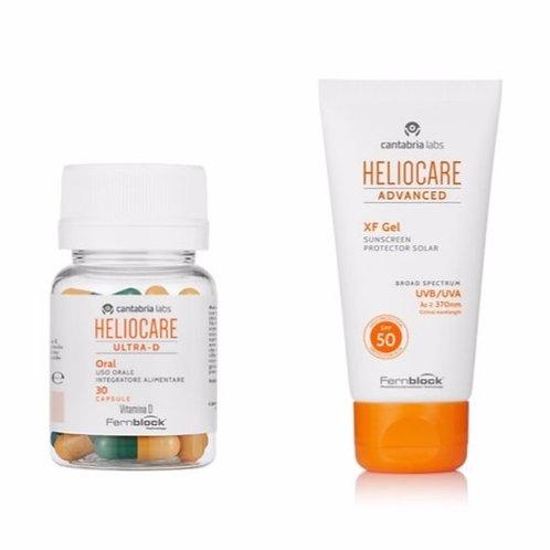 Heliocare Ultra D Capsules & Face Bundle