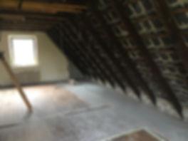 offener Dachstuhl, Energetische Sanierung